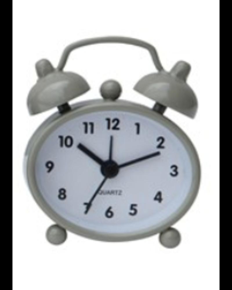 Creative Co-op Metal Mini Alarm Clock
