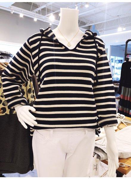 Binghamton Knitting Company Binghamton Striped Hoodie