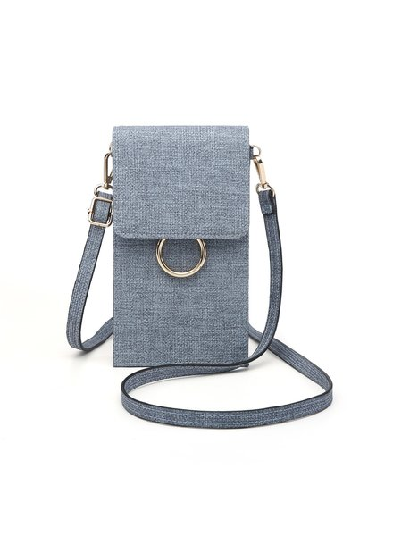 Jen & Co Denim Blue Touch Screen Purse