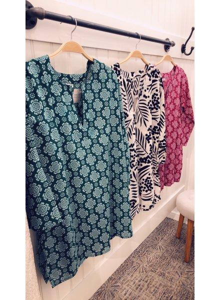 Nusantara Kurti Cotton Tunic