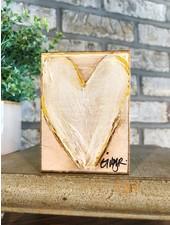 Ginger Leigh Designs Blush Love Heart