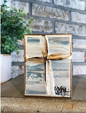 Ginger Leigh Designs Tranquility Blue Cross