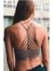 Leto High Neck Crochet Bralette