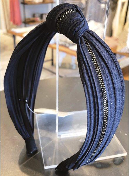 Medusa's Heirlooms Handmade Navy Headband