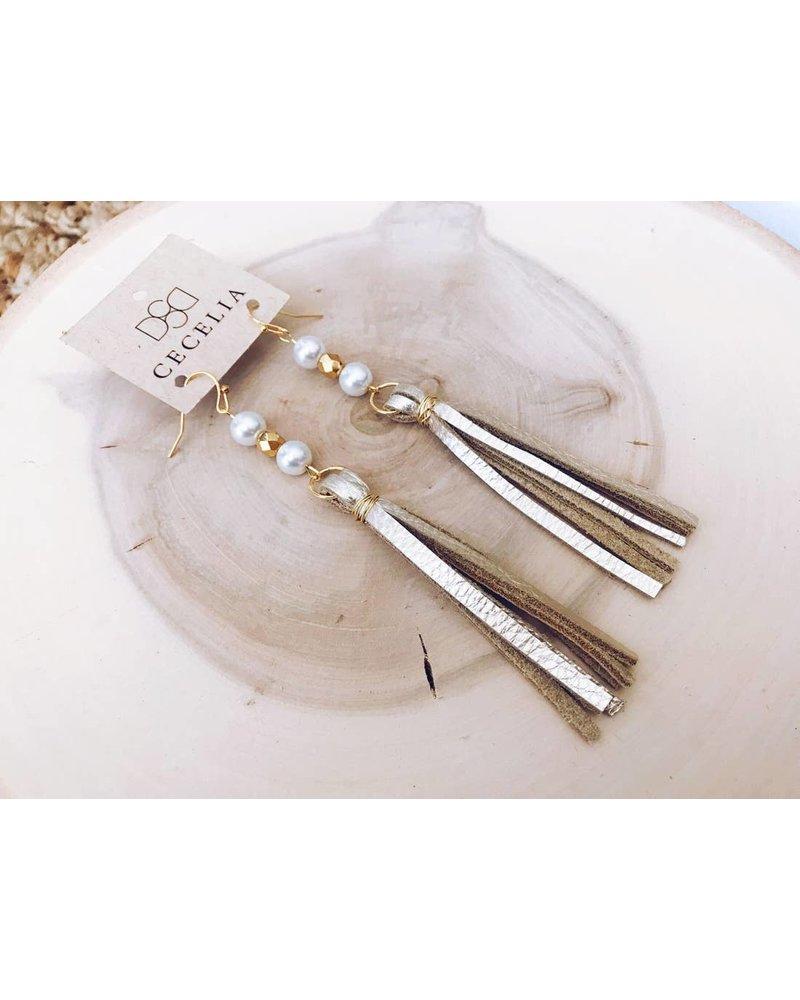 Cecelia Tassel Earrings