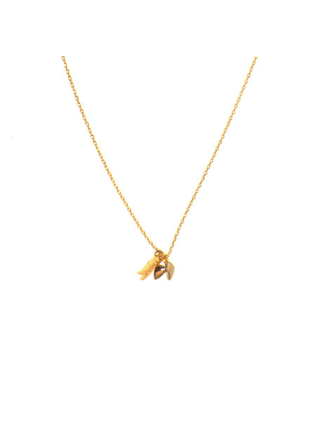 Joy Accessories Fortune Cookie Necklace