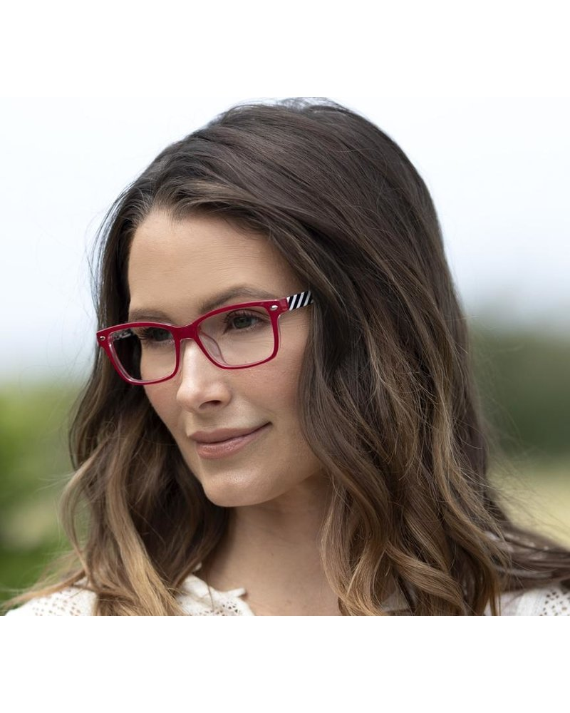 Peepers Red Zuma Blue Light Readers