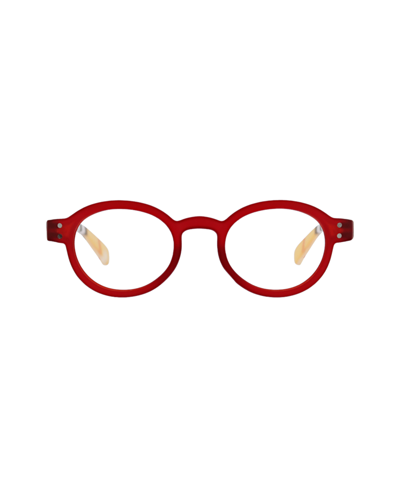 Peepers Style Sixteen Red Readers +2.75