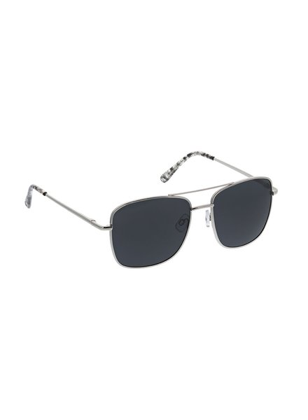 Peepers Unisex Silver Big Sur Reader Sunglasses