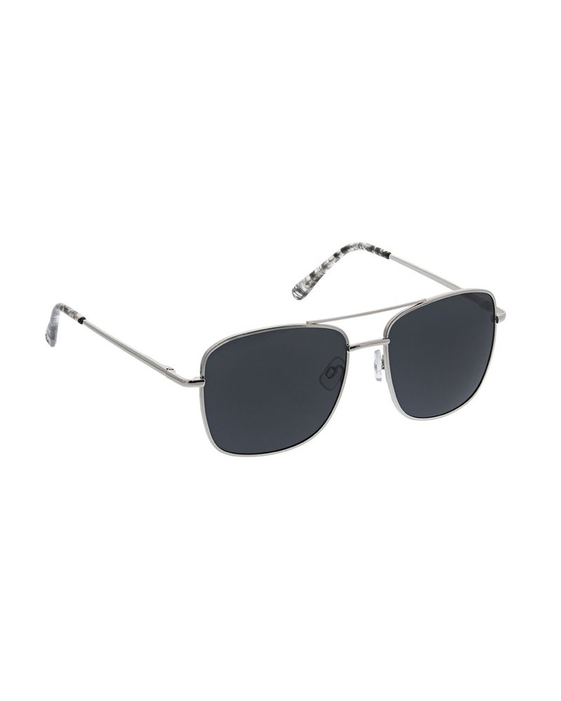 Peepers Unisex Silver Big Sur Reader Sunglasses