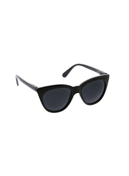 Peepers Black Mimosa Sunglasses