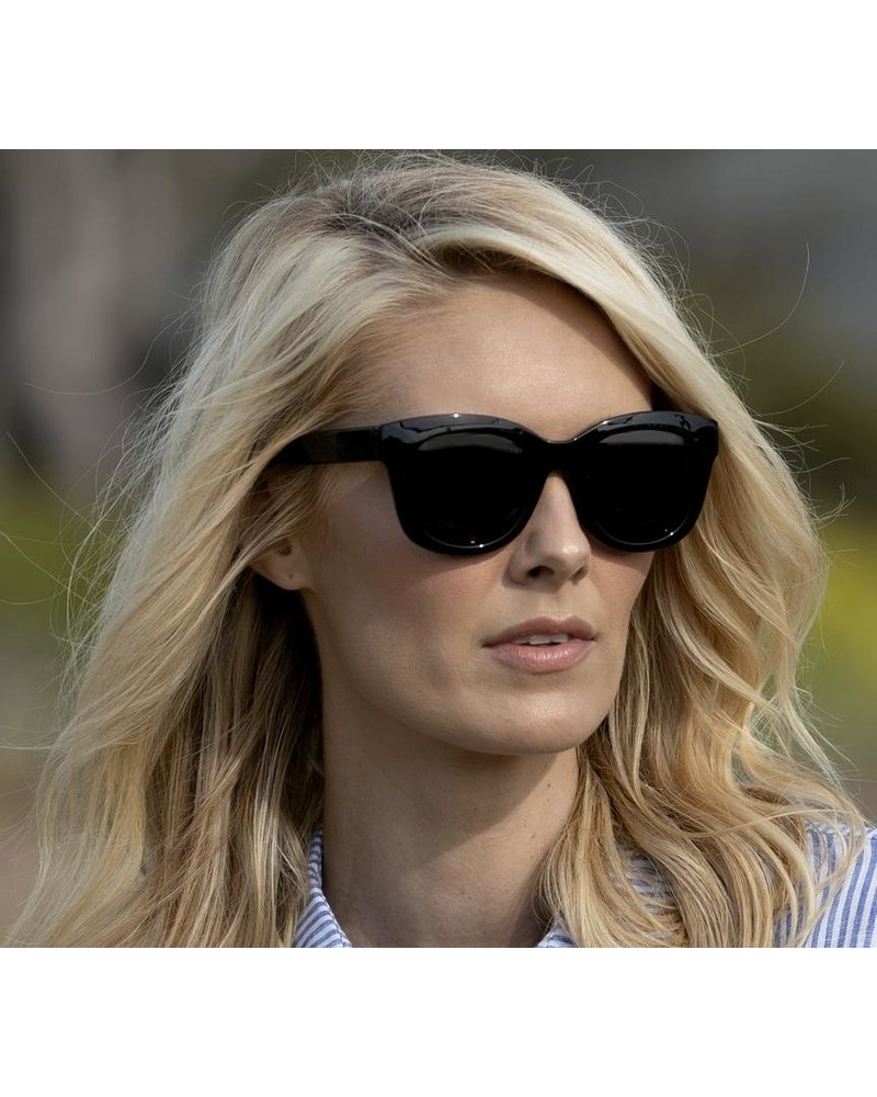 Peepers Black Center Stage Sunglasses