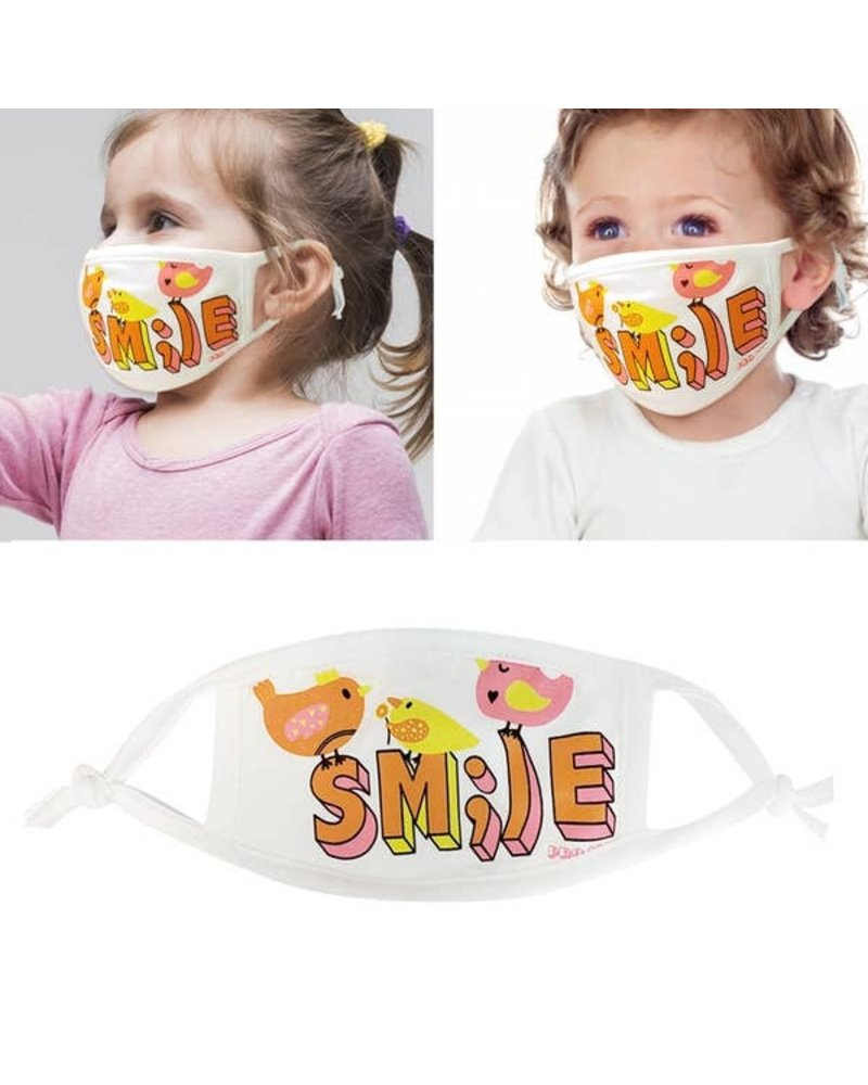 RK Apparel Inc Young Child - Smile Mask