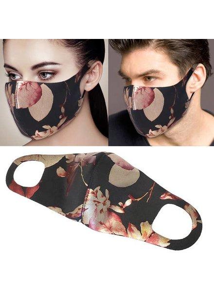 RK Apparel Inc Roses Face Mask