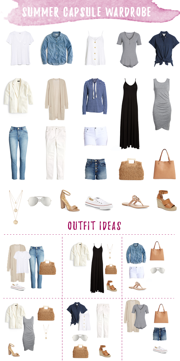 The Secret to Loving Your Closet? A Capsule Wardrobe.