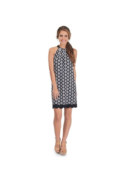 Mud Pie Black Diamond Natalie Dress