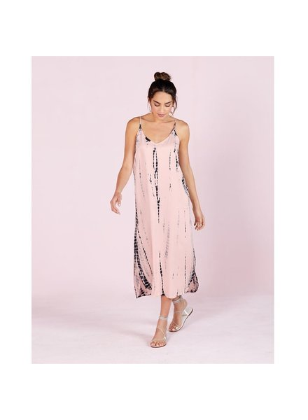 Mud Pie Pink Amma Midi Dress