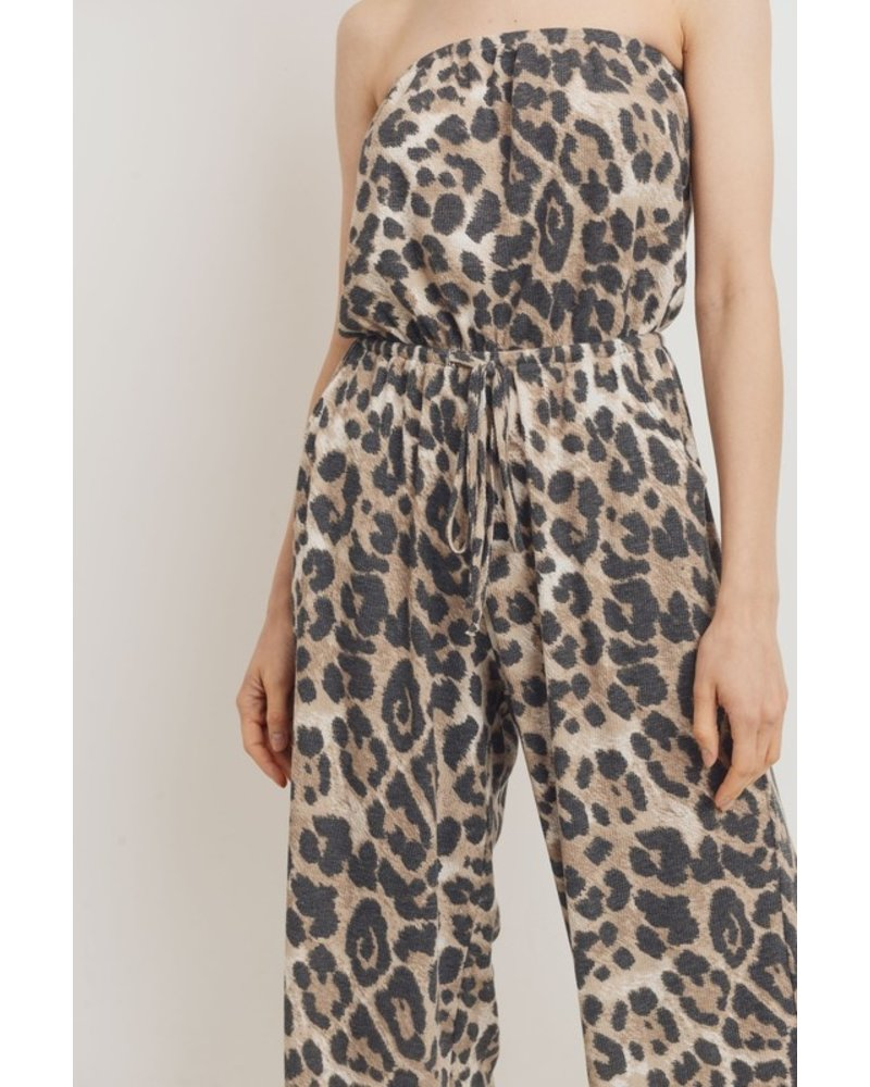 Cherish Leopard Romper