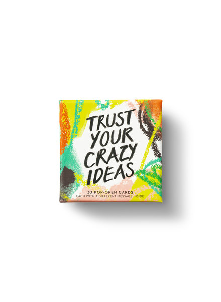 Compendium Trust Your Crazy Ideas Pop Open Cards