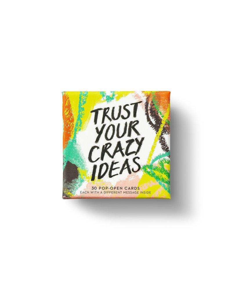 Compendium Trust Your Crazy Ideas Pop Open Cards