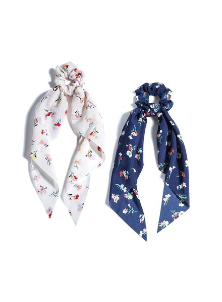 Shiraleah Two Floral Scarf Ponys