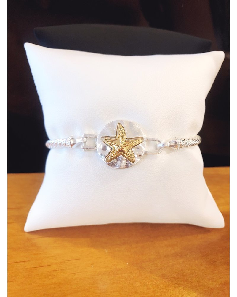 ABW Designs Two Tone Twisted Wire - Starfish
