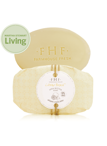 Farmhouse Fresh Citrine Beach Shea Butter Wrapped Soap