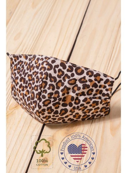 Haptics True Leopard Mask