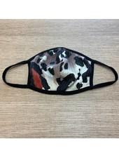 Veveret Chic Animal Print Mask