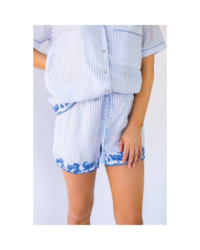 J. Marie Collections Micaela Pajama Shorts