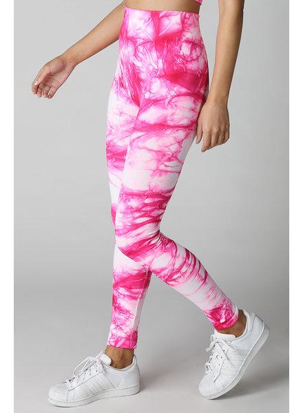 Nikibiki Pink Tie Dye Leggings