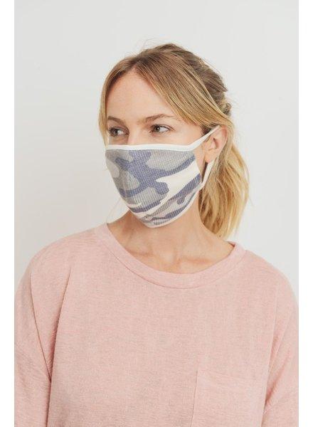 Cherish Camo Print Thermal Face Mask