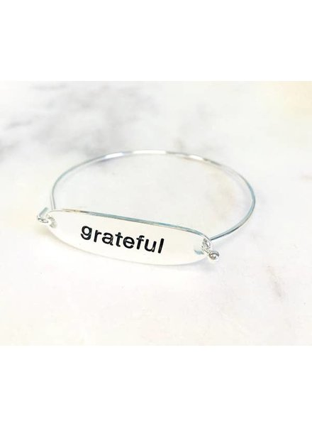 Pretty Simple Grateful Bracelet