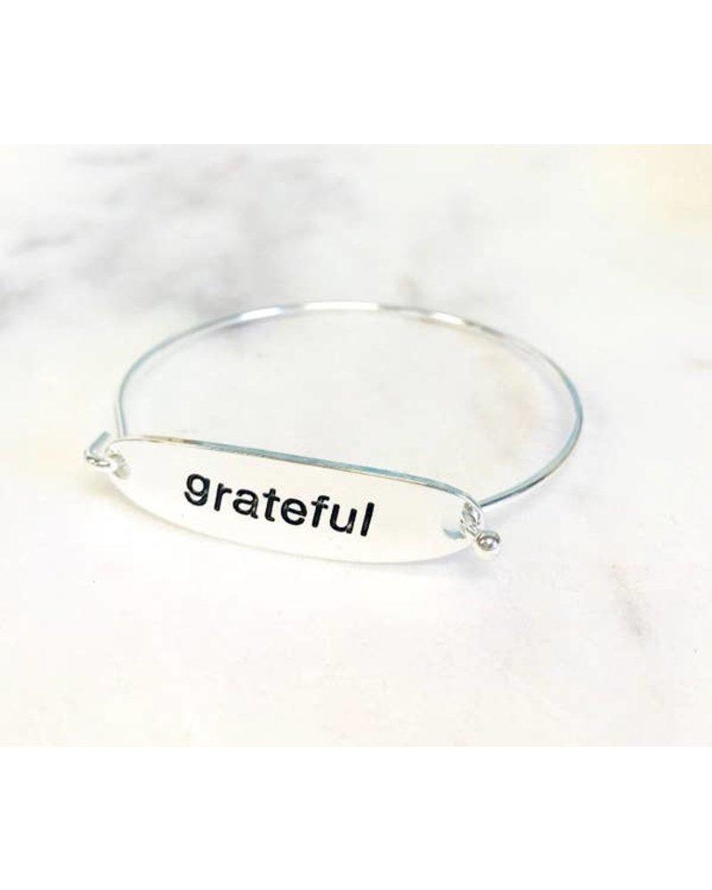 Pretty Simple Grateful Bracelet