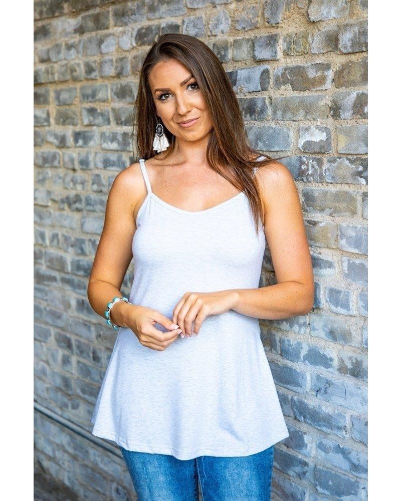 L&B Heather Grey Emma Tank
