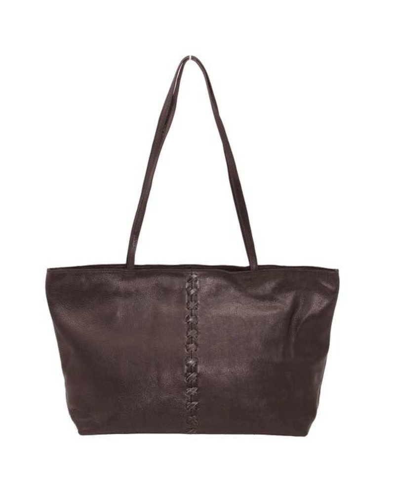 Latico Leathers Atelier Brown Leather Purse
