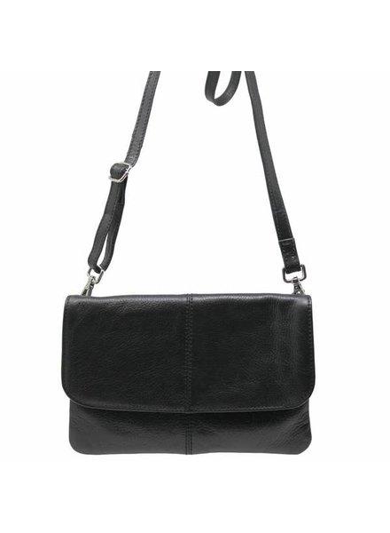 Latico Leathers Lidia Black Leather Bag