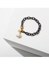 Larissa Loden Dahlia Howlite Bracelet