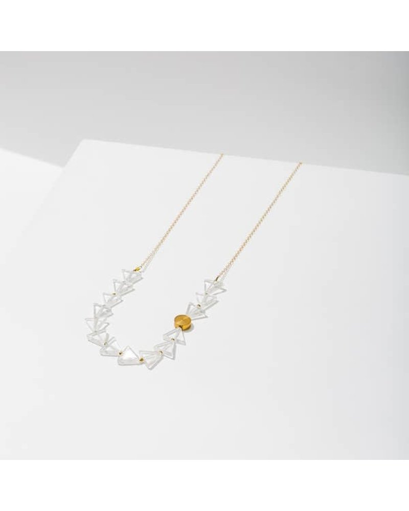 Larissa Loden Aim Clear Quartz Necklace