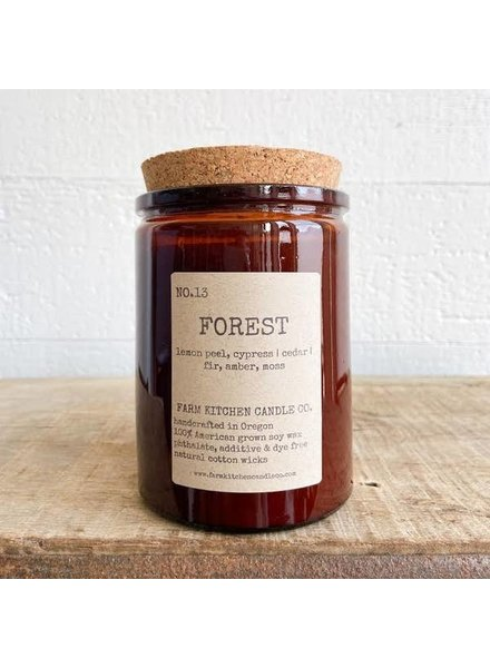 Farm Kitchen Candle Co. Forest Soy Candle