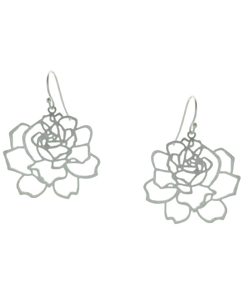 Takobia Open Rose Earrings
