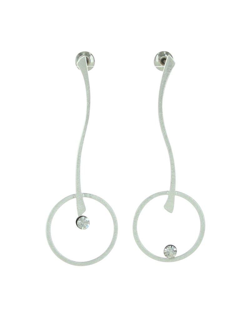 Takobia Stick & Circle Post Earrings