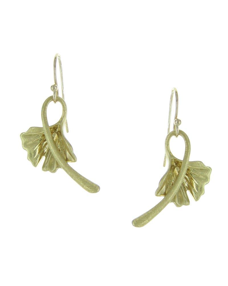 Takobia Gold Lily Earrings