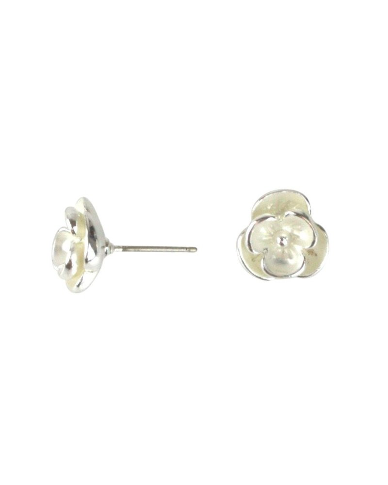 Takobia Open Flower Post Earrings