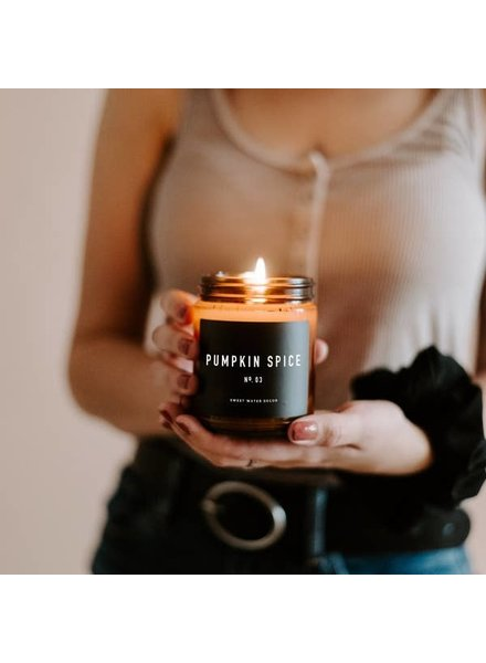 Sweet Water Decor Pumpkin Spice Soy Candle