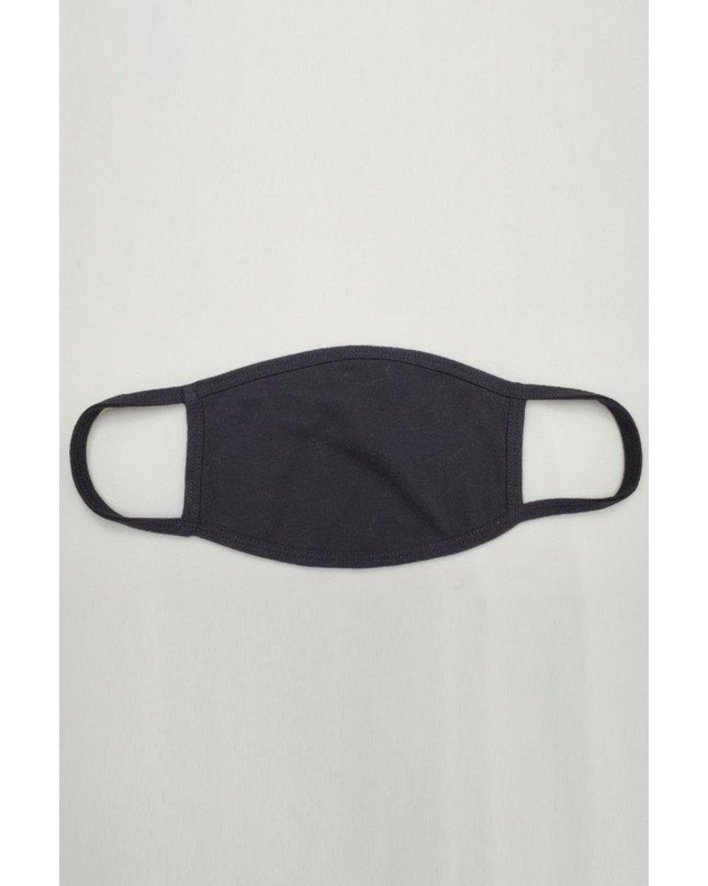 Veveret Black Soft Fabric Face Mask