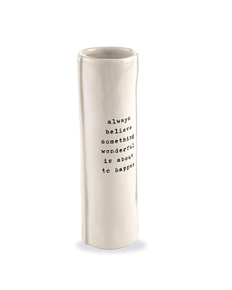 Mud Pie Positive Stem Vases