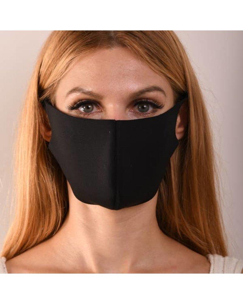 MIMOZZAS Black One Layer Mask
