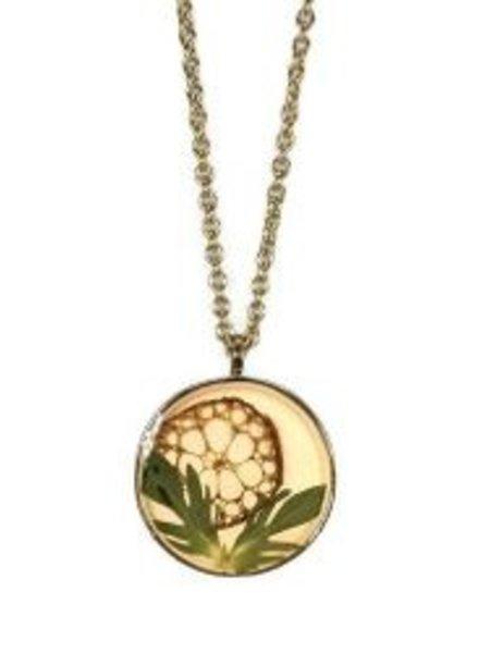 Shari Dixon Botanic Inspirations Lotus Medium Necklace