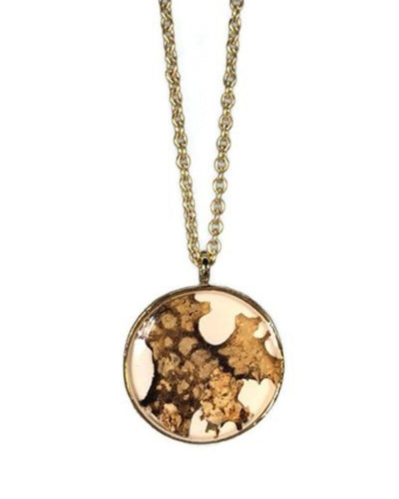 Shari Dixon Botanic Inspirations Bark Medium Necklace